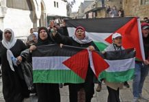 Protests held across world against US Jerusalem move
