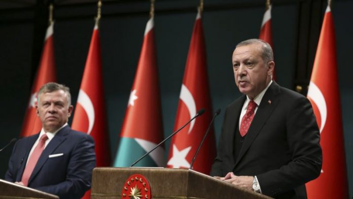 Turkish President, Jordanian King Unite Against US President Over Jerusalem Move