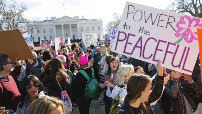 Thousands of Women March for Equal Rights, in US, Around World