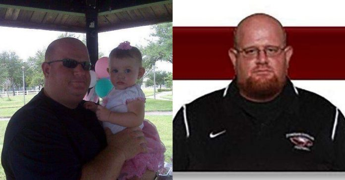 A football coach is being hailed as a hero for his actions in front of the shooter at Douglas High School
