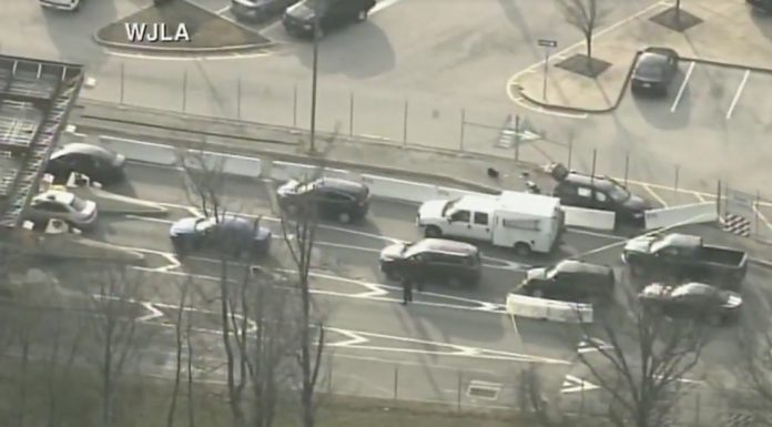Shots have been fired outside of the NSA headquarters — here's what we know