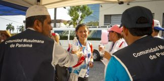 Panama mosque offers free water to World Youth Day pilgrims