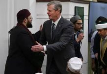 Charlie Baker, in first visit to a mosque as governor, offers message of inclusion