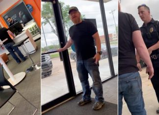 """Joey Christian called AT&T employee a """"f------ Arab"""" in the video and said he had been """"killing his kind for almost 20 years."""""""