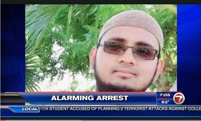 FBI arrests South Florida student accused of planning 2 terrorist attacks against college deans